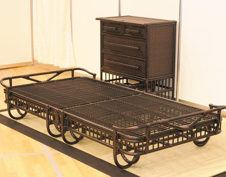 B-1200-S 軽量で畳に優しいベッド