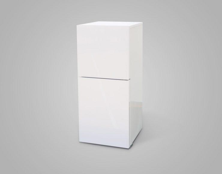 2ドア冷凍冷蔵庫<br />ハーフ&ハーフ<br />(HR-E915PW)