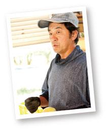 三代続く果樹農家の山田さん