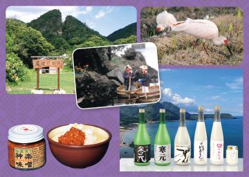 金銀山と花の島、佐渡 ~島おこしの力と新たな味発見~