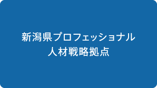 新潟県プロフェッショナル人材戦略拠点