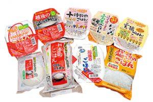 越後製菓株式会社 米飯