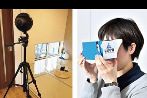360°カメラ VRゴーグル