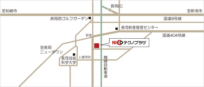 NICOテクノプラザ地図