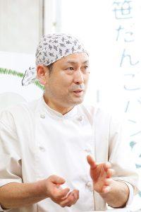 株式会社小竹製菓 代表取締役 小竹孝雄 氏