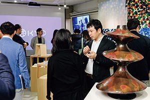 KYOプロジェクトの展示会の様子