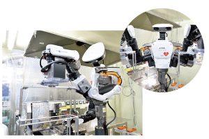 15軸双腕型ロボット