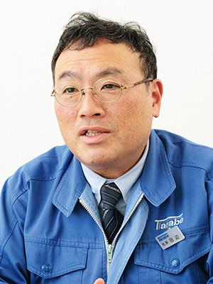 株式会社タナベ 代表取締役社長 田辺 郁雄 氏