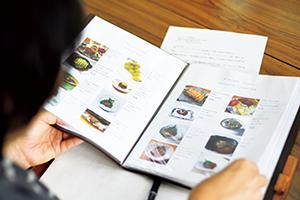 飲食店の英語メニュー制作