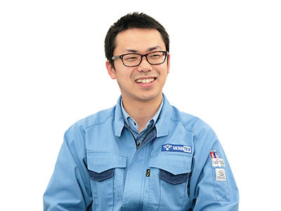 ウエノテックス株式会社  営業技術本部 技術開発室 課長 水澤 貴彦 氏