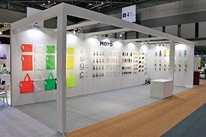 株式会社フォーワテック・ジャパン インテリアライフスタイル東京の、MOYÖのブース