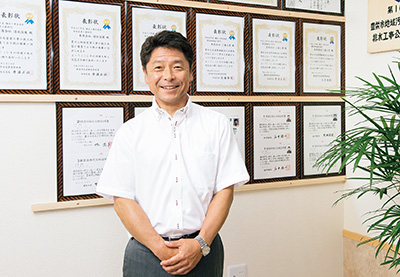 株式会社清水 代表取締役 清水 秀夫  氏