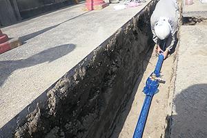 株式会社清水 古い水道管の取り換えや水漏れなどの緊急修繕工事なども手掛ける