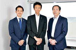 株式会社清水 今回の事業承継を支えたのが3名の専門家