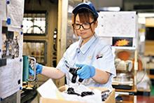 株式会社テック長沢 社員の3割が女性で、外国籍社員や海外実習生、障害者など、多様な人材が活躍