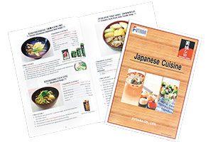 株式会社ネクスティ 海外見本市で配布するレシピ集