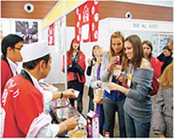 株式会社ネクスティ 2009年にNICOの企画で出展した「Vladivostok Food Show Russia 2009(ウラジオストク産業見本市)」