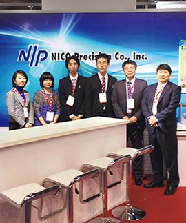 ニコ精密機器株式会社 マリンテックチャイナ出展の様子
