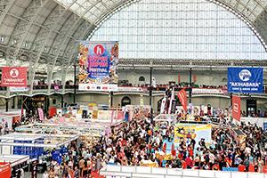 株式会社港製菓 イギリス・ロンドンで開催された「JAPAN FOOD SHOW」(HYPER JAPAN Festivalのイベント)