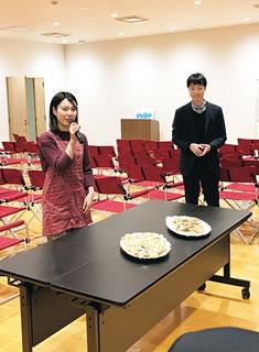 新潟大学 経済学部 ベンチャリング・ラボの交流会風景