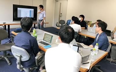 長岡技術科学大学の野中准教授の講義