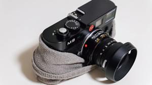 カメラのパッキング