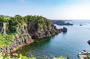 有限会社尖閣湾揚島観光 尖閣湾の風景