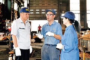 武合金株式会社 製造現場の更なる改善も検討