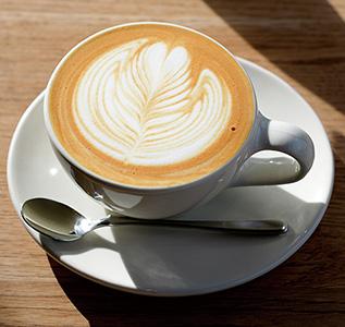 Taibow! Coffee & gelato soft ラテアート