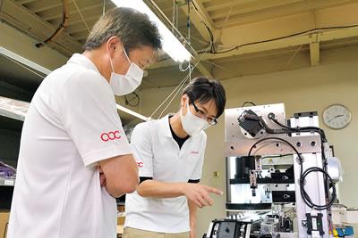 外部企業、新潟工科大学と共にエンジニアのチーム